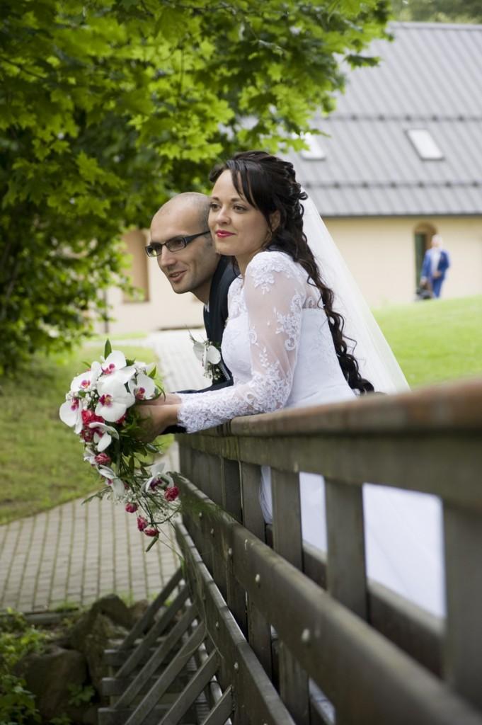 kāzu svinības Ūdensdzirnās