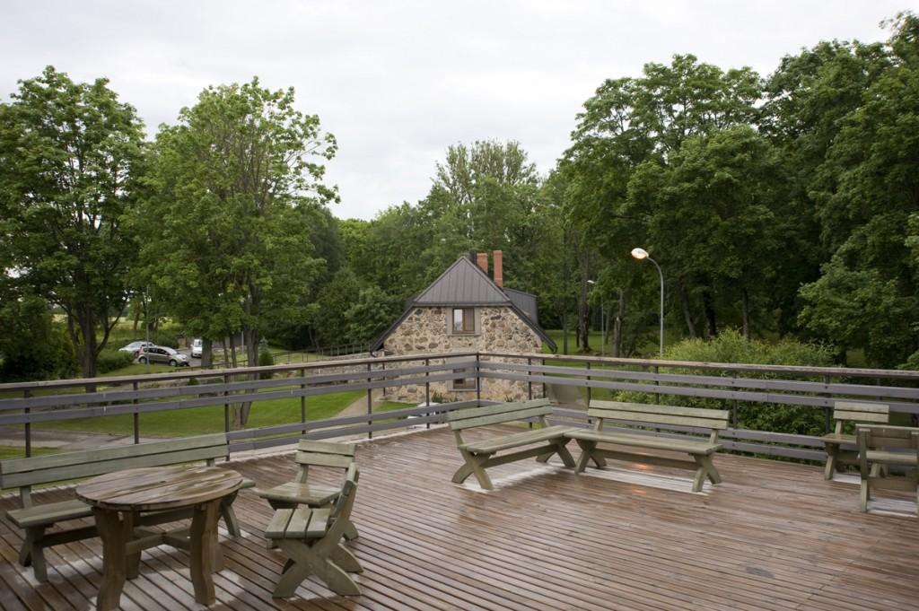Pasākumu organizēšanai - jumta terase